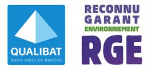 Certifié Qualibat & RGE